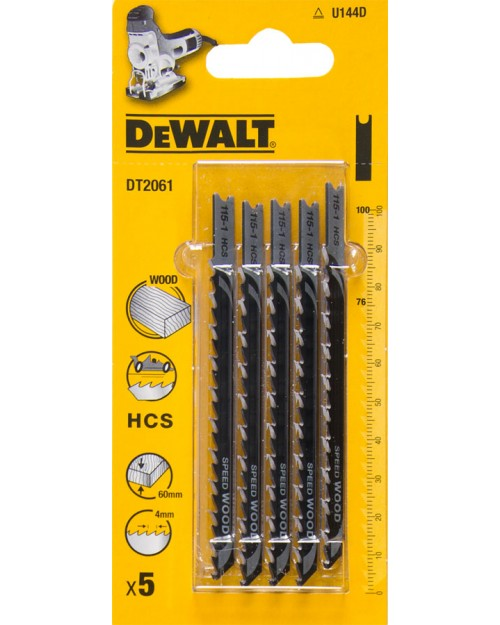 DeWALT Λεπίδες κοπής Ξύλου 100 mm DT2061