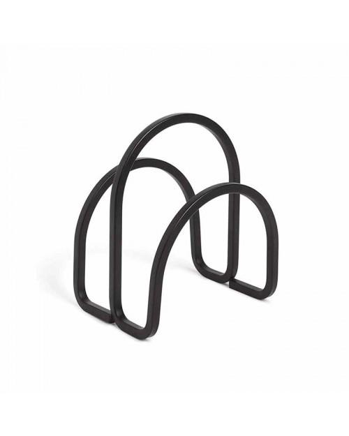 Umbra Squire Θήκη Χαρτοπετσέτας Μαύρη 1005748-040