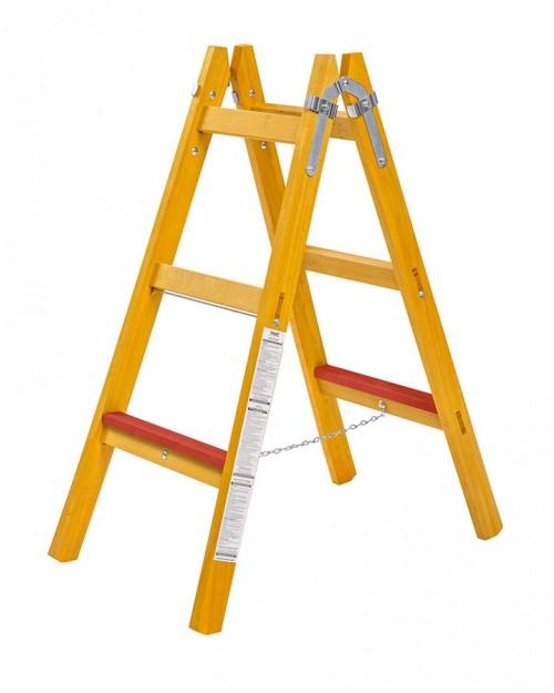 Beorol Σκάλα ξύλινη 6 (2x3) σκαλιά DME2X3