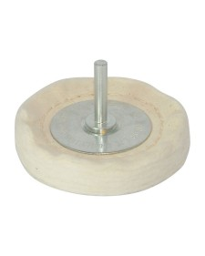 Silverline Κετσές γυαλίσματος με αξονάκι 75mm 105882