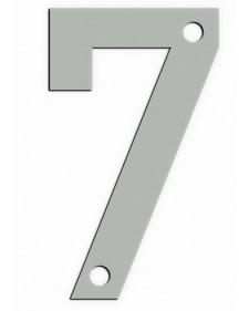 Αριθμός Metalor '7' 9cm Inox Ματ