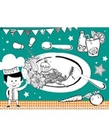 DUNI Kids Placemat Χάρτινο 30x40cm