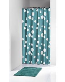 "Sealskin Κουρτίνα μπάνιου πλαστική ""Bubbles Aqua"" 180x200 cm πετρόλ 210821330"