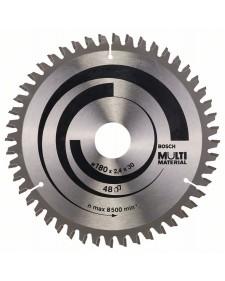 BOSCH Δίσκος κοπής Multi Material 180x30mm 48Δ 2608640507