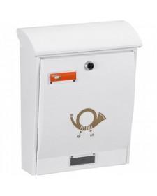 Γραμματοκιβώτιο Βιομετάλ Λιμόζ  - λευκό