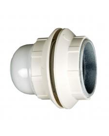 Ντουί Ε27+2 δαχτυλίδια λευκό JX-E27