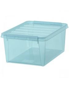 Κουτί αποθήκευσης SmartStore με καπάκι διάφανο μπλε Colour 15 3508976
