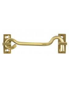 Γάντζος Ορειχάλκινος 80mm - Χρυσό Ματ