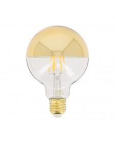 Xanlite Λάμπα LED χρυσή βάση Deco G95 Top Gold 850LM 8W 419152