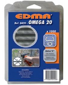 EDMA Συνδετήρες 20mm για το TOP GRAF 20/22 1000τμχ 042001