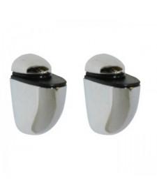 Βάση στήριξης ραφιού Mini νίκελ  - ζευγάρι