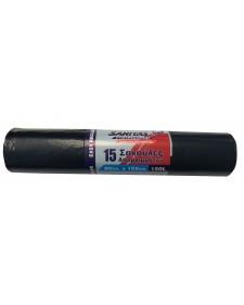 SANITAS σακουλάκι σκουπιδιών 80x105 easy regular μαύρο