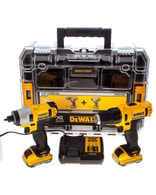 DEWALT Σετ Δραπανοκατσάβιδο & Παλμικό Κατσαβίδι 10.8V DCK211D2T