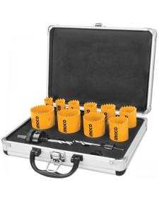 INGCO Ποτηροτρύπανα Bi-Metal 20-50 mm σετ 12τμχ AKH0121