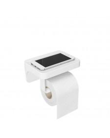 Umbra Flex χαρτοθήκη αυτοκόλλητη λευκή 1014159-660
