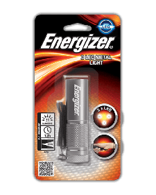 Φακός Energizer 3xLed Metal Light