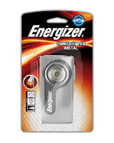 Φακός Energizer Compact Metal Led - Ασημί