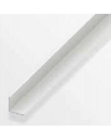 Προφίλ Γωνιακό PVC 1 μέτρο 20Χ20Χ1,5 λευκό