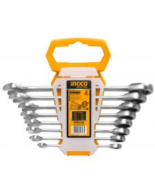 INGCO Γερμανοπολύγωνα καστάνιας Cr-V σετ 8τμχ HKSPAR1082