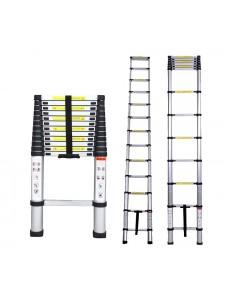 Inox Kiss Τηλεσκοπική σκάλα αλουμινίου 13 σκαλοπατιών LAD213B