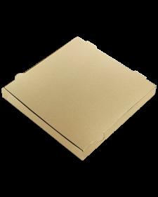 Κουτί Πίτσας Κραφτ Ατύπωτο 33x33x4 cm