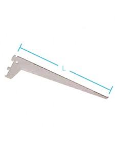 Βραχίονας ραφιού ES 'PRO' 3 αγκίστρων 50cm λευκό